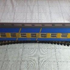 Trenes Escala: IBERTREN H0 FURGÓN CAFETERÍA-RESTAURANTE DE RENFE. REF. 2223 . PERFECTO ESTADO. CON CAJA. Lote 290050558