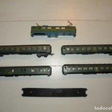 Comboios Escala: SET PARA REPUESTOS DE VAGONES DE PASAJEROS SERIE 8000 Y LOCOMOTORA MITSUBISHI 269 IBERTREN H0 HO. Lote 290137668