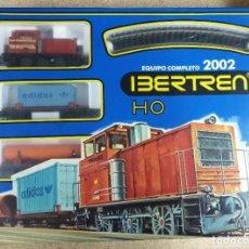 Comboios Escala: IBERTREN HO EQUIPO COMPLETO 2002 TAL CUAL SE VE EN LAS FOTOS PARECE NUEVO. Lote 290498233