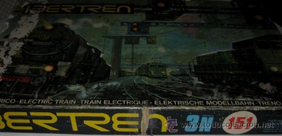 Trenes Escala: ANTIGUA Y PRECIOSA CAJA IBERTREN ESCALA 3N 151 - TREN ELECTRICO - COMPLETA SALVO POR EL TRANSFORMADO - Foto 2 - 27115083