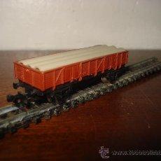 Trenes Escala: IBERTREN EN N VAGON BORDE MEDIO CON TUBOS REF.327 . . Lote 20533853