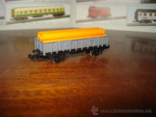 Trenes Escala: Vagon borde medio con tubos de IBERTREN en escala *N*. - Foto 2 - 24542792