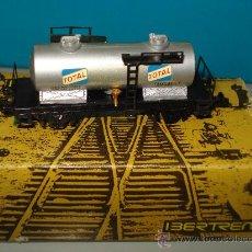 Trenes Escala: VAGON CISTERNA 2 EJES *TOTAL* REF. 359 DE IBERTREN EN ESC. *N* .. Lote 24627539