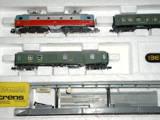 Trenes Escala: Lote IBERTREN 141 COMPLETO. ADEMÁS INCLUYE 2 LOCOMOTORAS Y ACCESORIOS - Foto 3 - 24494919