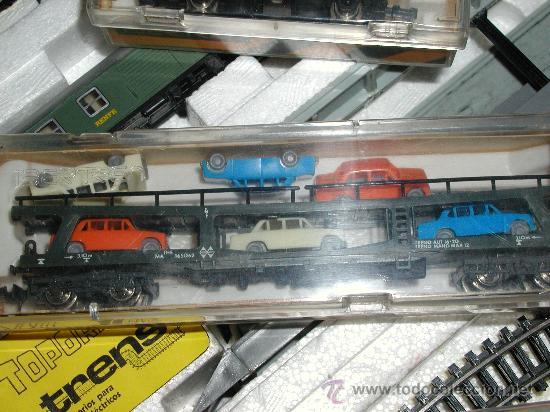 Trenes Escala: Lote IBERTREN 141 COMPLETO. ADEMÁS INCLUYE 2 LOCOMOTORAS Y ACCESORIOS - Foto 8 - 24494919