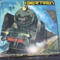 Trenes Escala: ANTIGUA CAJA IBERTREN COMPLETA - 301 - ESCALA 3N - LOCOMOTORA CON 5 VAGONES - INCLUYE EL TRASNFORMAD. Lote 28956558