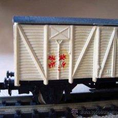 Trenes Escala: VAGON DE TREN DE CARGA, FABRICADO POR IBERTREN, ESCALA N. Lote 29972525