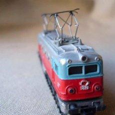 Trenes Escala: LOCOMOTORA ALSHTOM, 7671, FABRICADO POR IBERTREN, ESCALA N, RENFE. Lote 29973128
