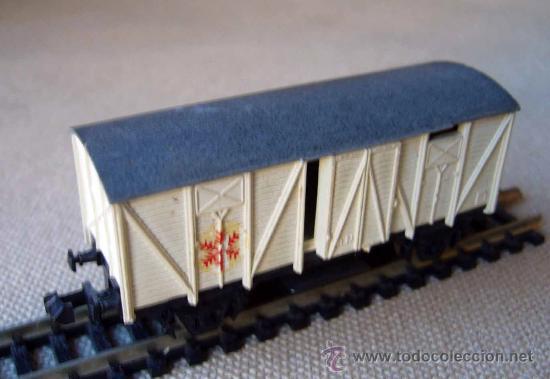 Trenes Escala: VAGON DE TREN DE CARGA, FABRICADO POR IBERTREN, ESCALA N - Foto 4 - 29972525