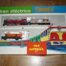 Trenes Escala: TRENEX TREN ELECTRICO IBERTREN NUEVO CON ESTACION NUEVO DE JUGUETERIA REF 05100 VER DETALLE DE FOTOS. Lote 32467787