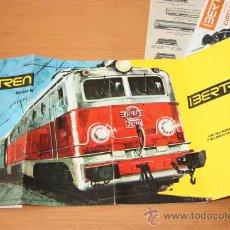 Trenes Escala: IBERTREN N RENFE CARPETA DOCUMENTACION. Lote 33487381