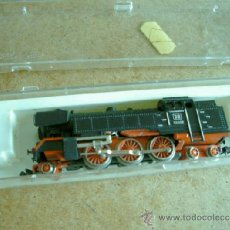 Trenes Escala: IBERTREN LOCOMOTORA VAPOR CON CAJA DB 66002. Lote 37628310