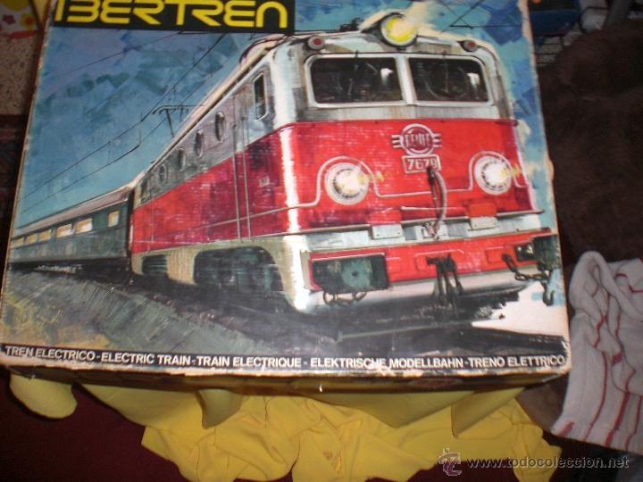 IBERTREN 3N REFERENCIA 401 CON VIAS DE BALASTRO , TREN ANTIGUO, JUGUETE ANTIGUO (Juguetes - Trenes a escala N - Ibertren N)