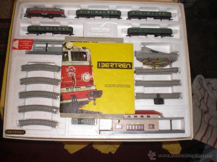 Trenes Escala: IBERTREN 3N REFERENCIA 401 CON VIAS DE BALASTRO , TREN ANTIGUO, JUGUETE ANTIGUO - Foto 5 - 40770447
