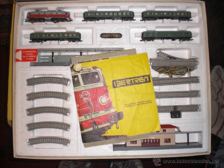 Trenes Escala: IBERTREN 3N REFERENCIA 401 CON VIAS DE BALASTRO , TREN ANTIGUO, JUGUETE ANTIGUO - Foto 6 - 40770447