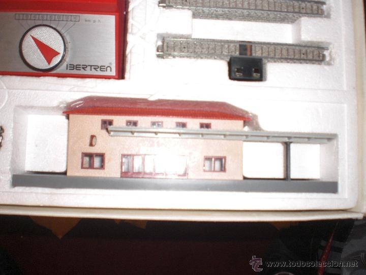 Trenes Escala: IBERTREN 3N REFERENCIA 401 CON VIAS DE BALASTRO , TREN ANTIGUO, JUGUETE ANTIGUO - Foto 11 - 40770447