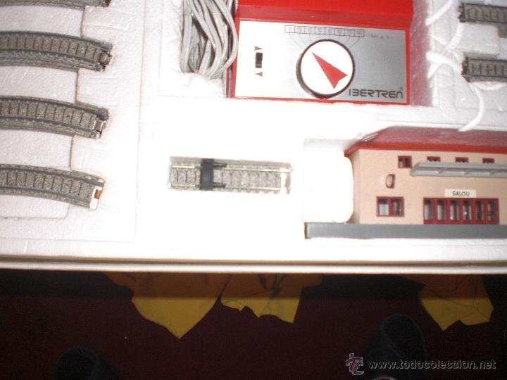 Trenes Escala: IBERTREN 3N REFERENCIA 401 CON VIAS DE BALASTRO , TREN ANTIGUO, JUGUETE ANTIGUO - Foto 13 - 40770447