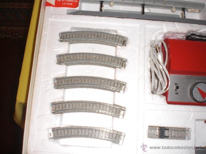 Trenes Escala: IBERTREN 3N REFERENCIA 401 CON VIAS DE BALASTRO , TREN ANTIGUO, JUGUETE ANTIGUO - Foto 14 - 40770447