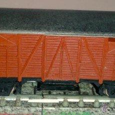 Trenes Escala: ELECTROTREN- VAGON - DE MERCANCIAS - CERRADO ESCALA N. Lote 41761077