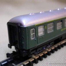 Trenes Escala: VAGON DE PASAJEROS, DE 1ª, RENFE, ESCALA N, FABRICADO POR IBERTREN. Lote 43559139
