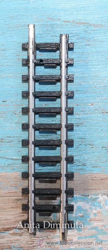 ANTIGUA RECTA CORTA DE IBERTREN - ESCALA 3N - 6,5 CM - (Juguetes - Trenes a escala N - Ibertren N)