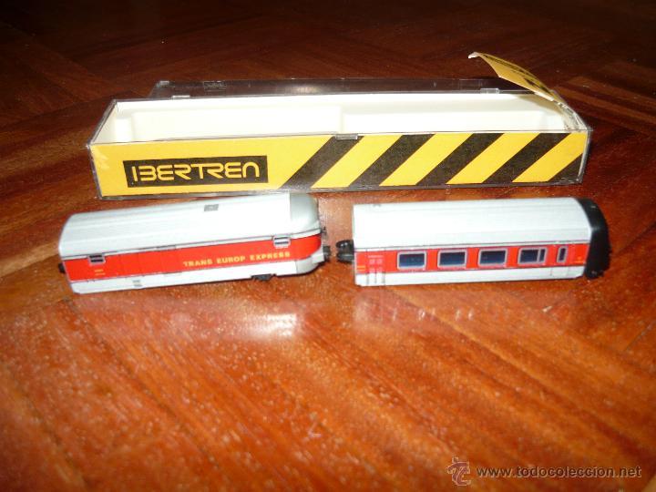 Trenes Escala: Ibertren VAGON PASAJEROS en caja escala N original MUY Buen estado DIRECTA TIENDA UN 10 MUY RARO - Foto 4 - 45747880