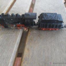 Trenes Escala: LOCOMOTORA DE VAPOR CON TANDER FFA DE IBERTREN ESCALA 3 N. Lote 46020342