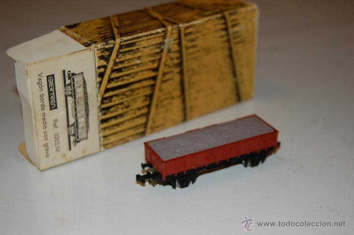 Trenes Escala: Vagon borde medio con grava IBERTREN - ESCALA N - Foto 2 - 46249744
