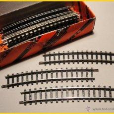 Trenes Escala: CAJA DE 12 VÍAS CURVAS DE IBERTREN. Lote 46787984