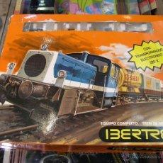 Trenes Escala: EQUIPO COMPLETO TREN DE MERCANCIAS IBERTREN 2N REF. 6844. Lote 47694907