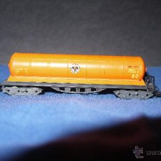 Trenes Escala: IBERTREN VAGON CISTERNA 4 EJES BUTANO,REF-361,IMPECABLE. Lote 48601520