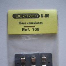 Trenes Escala: PLACA CONEXIONES REF. 709 PARA LOCOMOTORAS DE TREN IBERTREN N HO RECAMBIOS REPUESTO. Lote 48813964