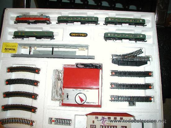 Trenes Escala: Lote IBERTREN 141 COMPLETO. ADEMÁS INCLUYE 2 LOCOMOTORAS Y ACCESORIOS - Foto 15 - 24494919