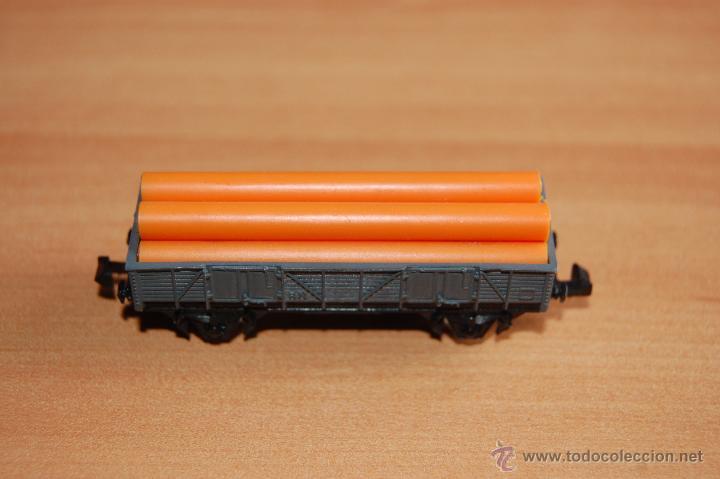 IBERTREN VAGON CARGA TUBOS ESCALA N (Juguetes - Trenes a escala N - Ibertren N)