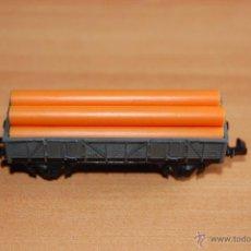 Trenes Escala: IBERTREN VAGON CARGA TUBOS ESCALA N. Lote 49414621