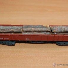 Trenes Escala: IBERTREN VAGON CARGA TRONCOS MADERA ESCALA N. Lote 49414718