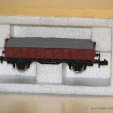 Trenes Escala: VAGÓN BORDE MEDIO CON GRAVA DE IBERTREN. Lote 51475868