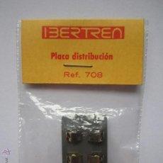 Trenes Escala: PLACA DE DISTRIBUCIÓN REF 708 PARA TRENES MARCA IBERTREN MAQUETA TREN AÑOS 80 NUEVO .. Lote 53785747