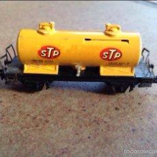 Trenes Escala: VAGON CISTERNA STP AMARILLO IBERTREN. Lote 54114145