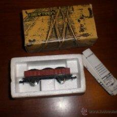 Trenes Escala: IBERTREN. VAGÓN BORDE MEDIO CON CARBÓN. ESCALA N. SIN USO. Lote 54413473