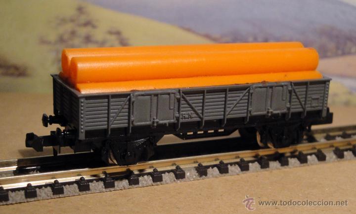 Trenes Escala: Vagón borde medio con tubos. De Ibertren - Foto 2 - 55063098