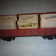 Trenes Escala: IBERTREN N. VAGON TRANSPORTE CAJAS SCALEXTRIC EN BUEN ESTADO. Lote 56819255