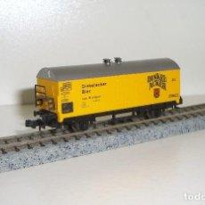 Trenes Escala: IBERTREN N CERVECERO DINKEL-ACKER (CON COMPRA 5 LOTES O MAS ENVÍO GRATIS). Lote 61756496