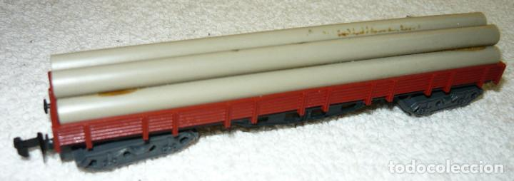 Trenes Escala: VAGON CARGA TUBOS IBERTREN 4 EJES ESCALA N - Foto 2 - 66999690