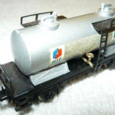 Trenes Escala: VAGON CISTERNA ELF IBERTREN ESCALA N. Lote 67043178