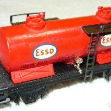 Trenes Escala: VAGON CISTERNA ESSO IBERTREN ESCALA N. Lote 67047346