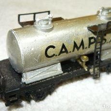 Trenes Escala: VAGON CISTERNA CAMPSA IBERTREN ESCALA N. Lote 67049158