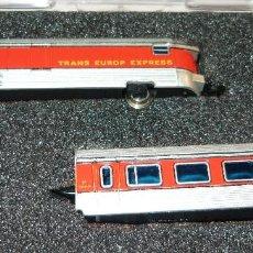 Trenes Escala: VAGONES TALGO RD TRANS EUROP EXPRESS IBERTREN ESCALA N. Lote 67435485