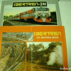Trenes Escala: LOTE DE DOS CATALOGOS IBERTREN 3N . Lote 72358619