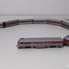 Trenes Escala: ANTIGUO TREN VAGON IBERTREN ESCALA 3N TALGO VIRGEN DEL CARMEN FUNCIONANDO. Lote 205249213